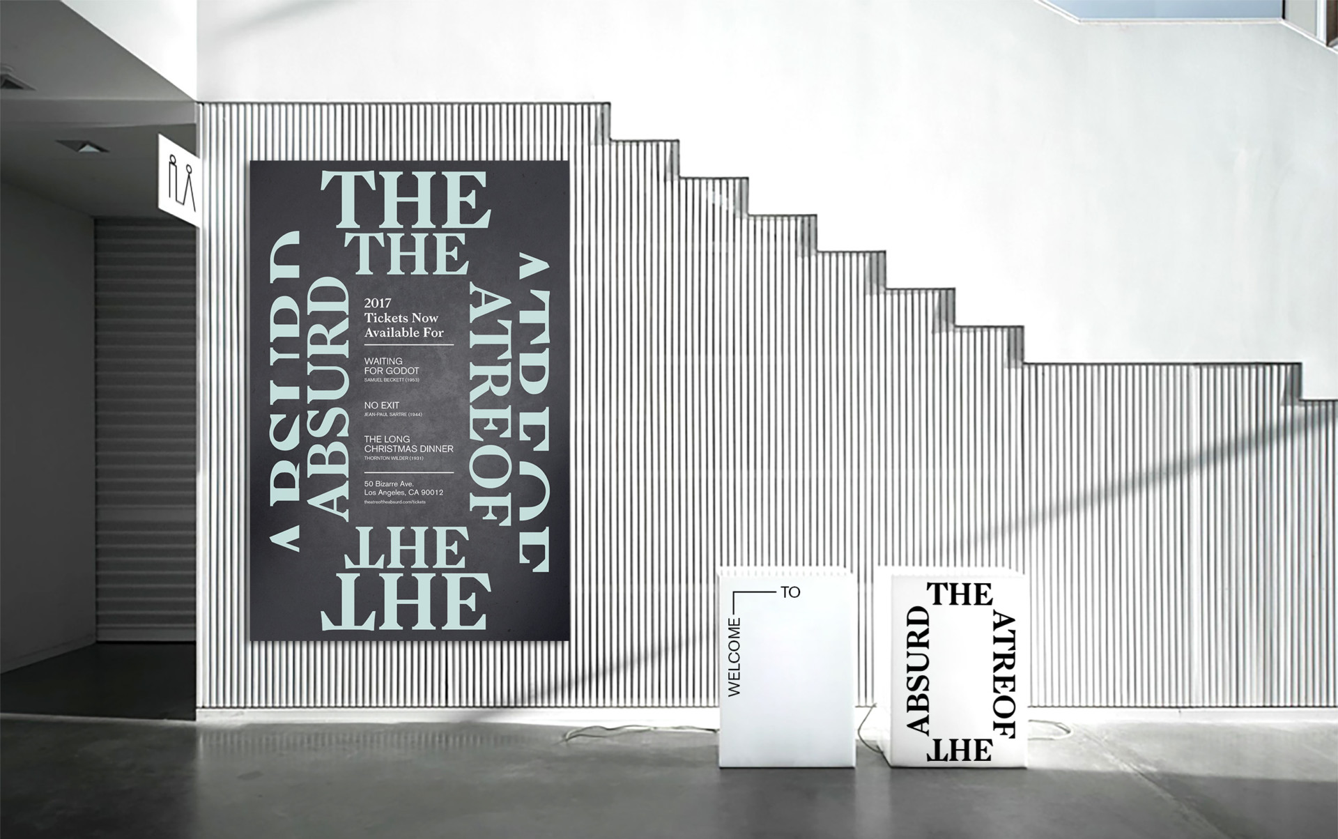 Andrew Chiou → Graphic Designer Theatre of the Absurd