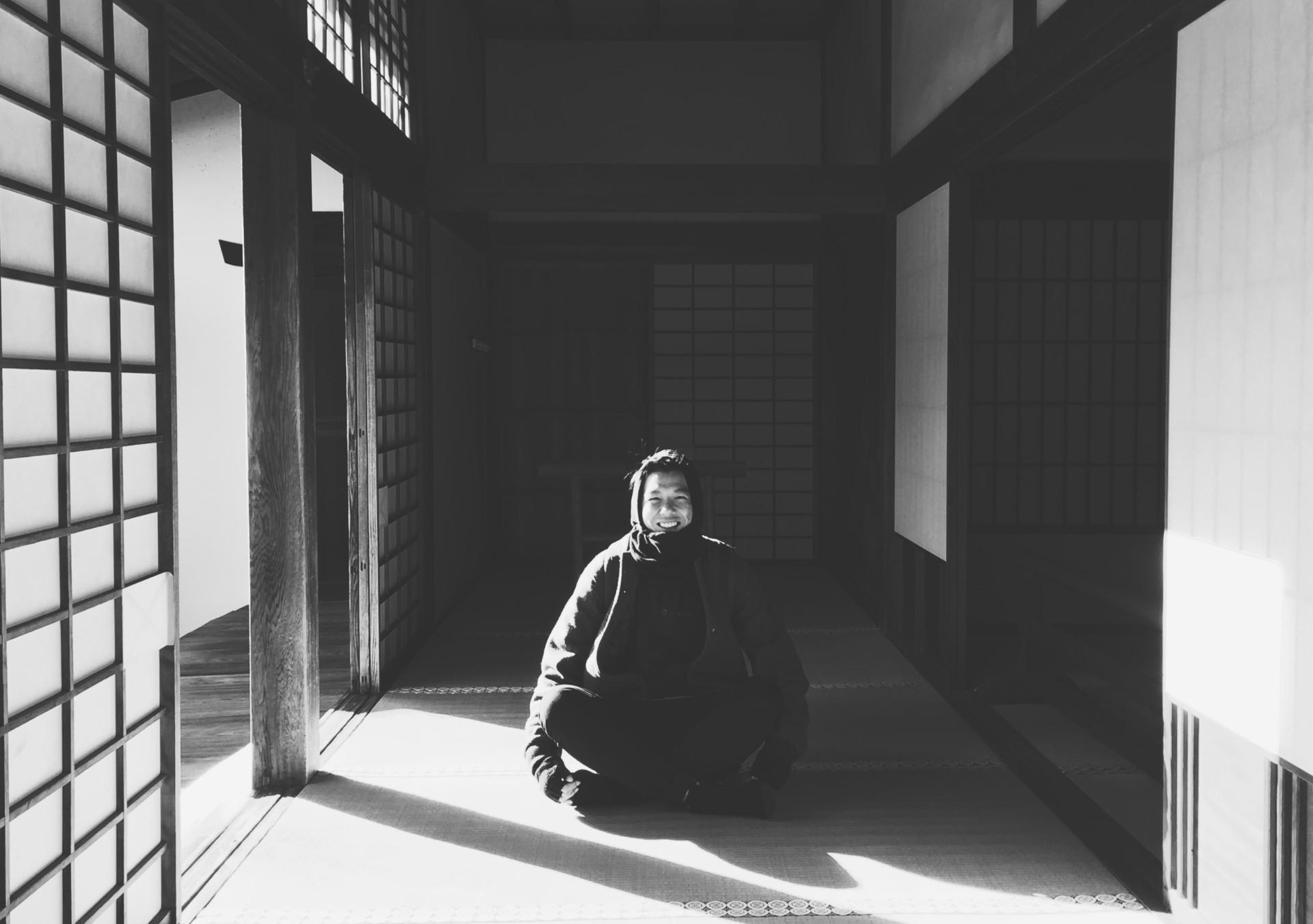 Andrew Chiou → Graphic Designer Selfie